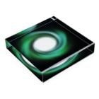 宇宙の贈りものの「時の音色」 Acrylic Blockの平置き