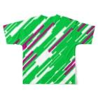 レオナのQuadranglesフルグラフィックTシャツ