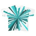 レオナのPieces Full graphic T-shirts