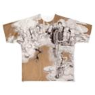 yukimimannoのほとけさま Full graphic T-shirts