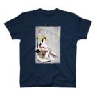 和もの雑貨 玉兎の新形三十六怪撰 地獄太夫悟道の図【浮世絵・遊女】 T-shirts