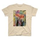 愛汰のチューリップ T-shirts