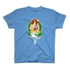 魚六の竜座如意輪観音菩薩 T-shirts