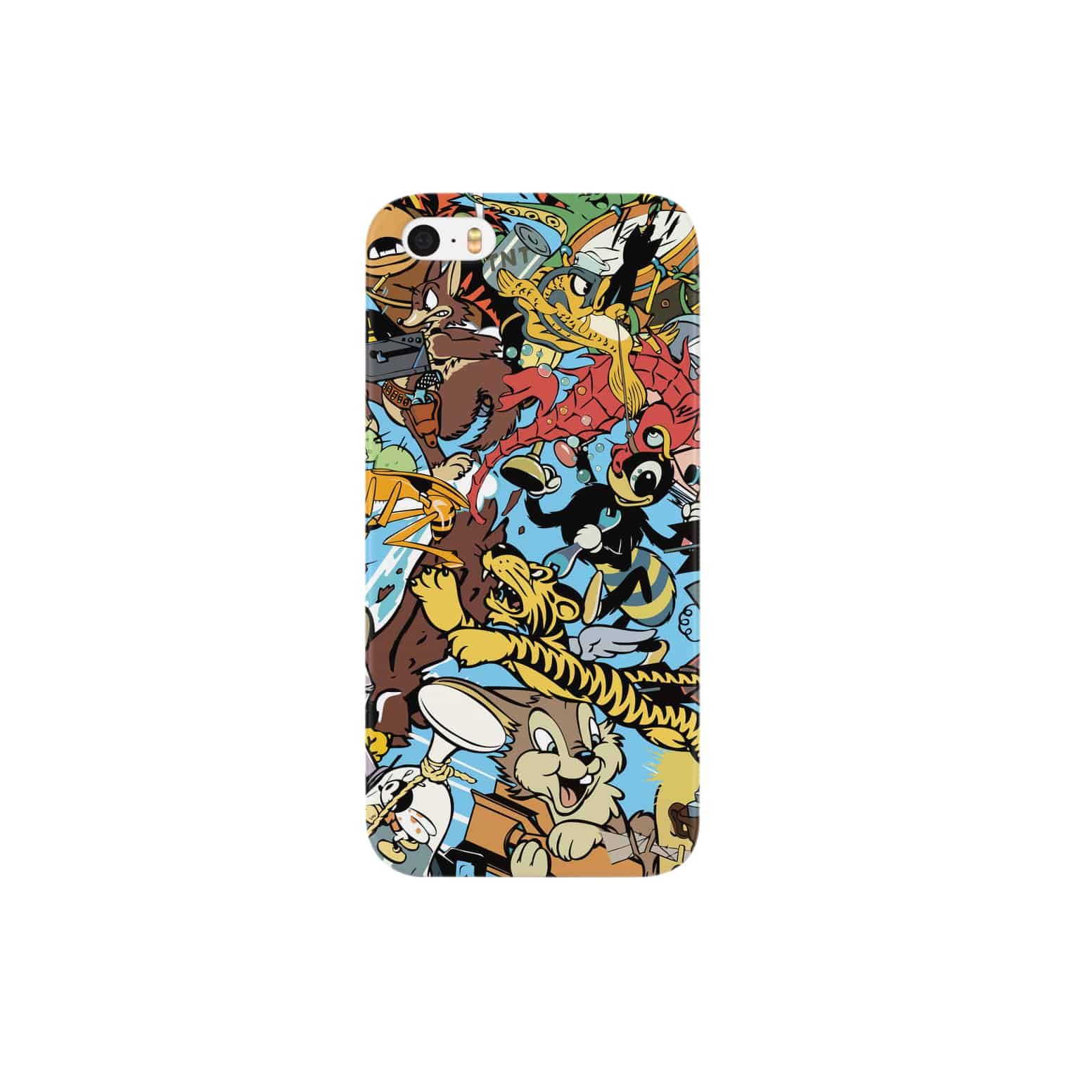 CYBERDYNEのinsigno_characters Smartphone cases