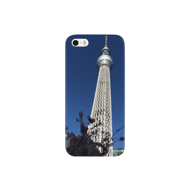 MunehiroのTokyo sky tree Smartphone cases