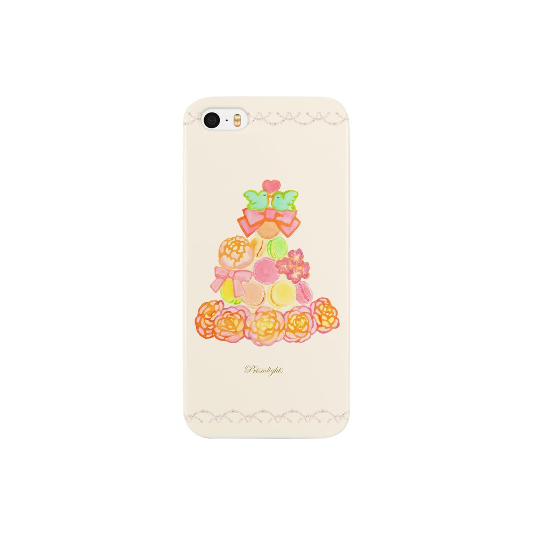Sari*Prism lights の*マカロンタワー* Smartphone cases