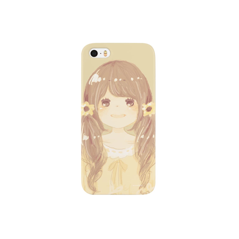 *momochy shop*の*ひまわり* Smartphone cases