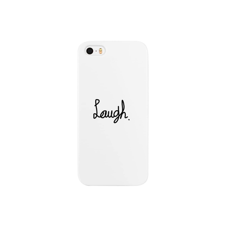 aikaのlaugh Smartphone cases