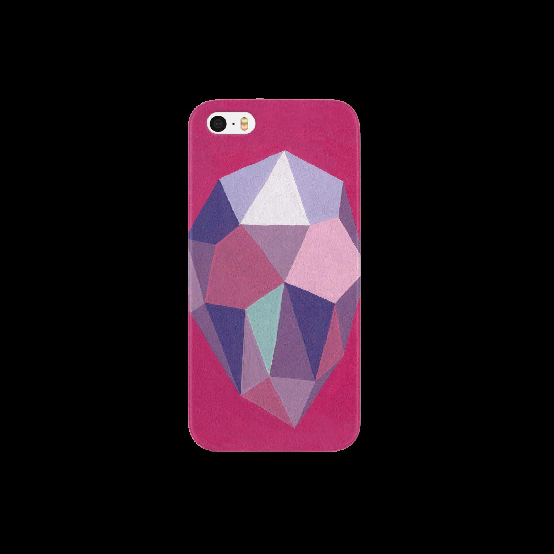 tatsushimbunのdiamond スマートフォンケース