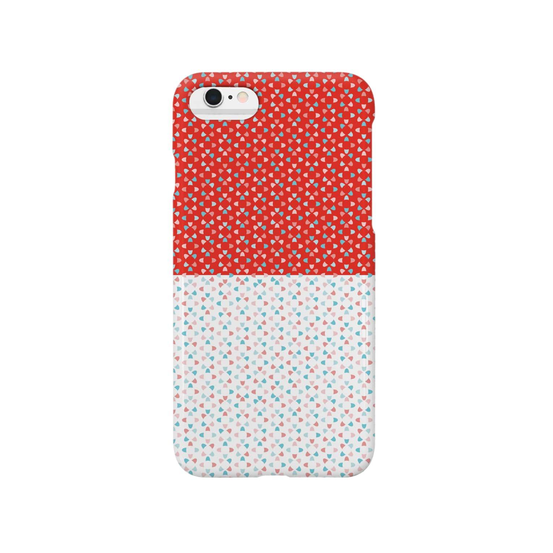 KULOKULOのMedeTai_001_aka&shiro Smartphone cases