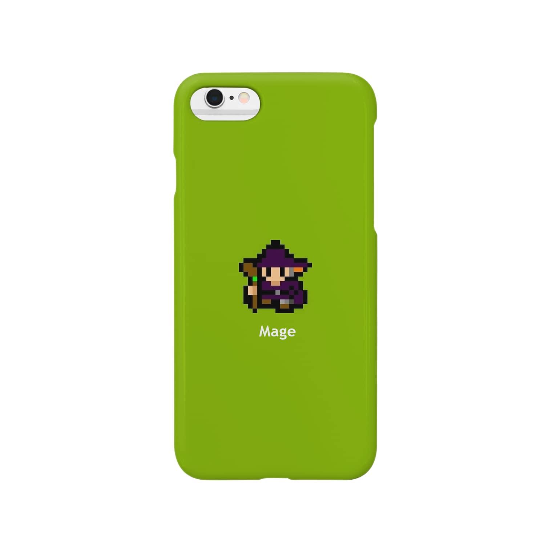 8D FACTORYの8ビットな魔法使い Smartphone cases