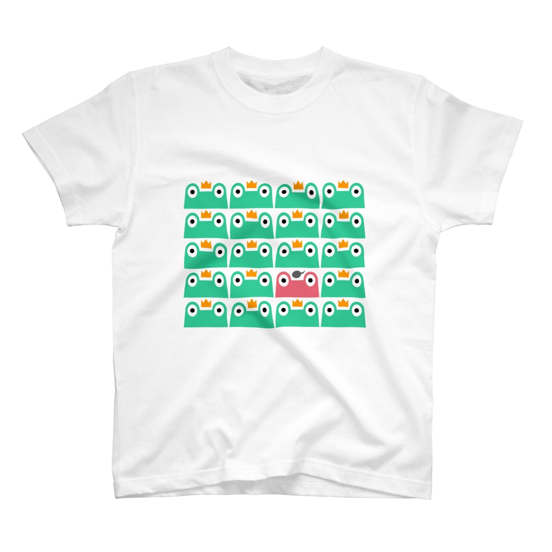 カエル隊Tシャツ
