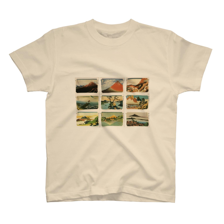 安永峰夫の北斎-1 T-shirts