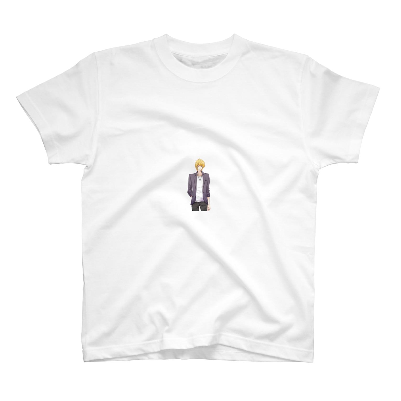GENIUSオリジナルグッズショップの三橋拓海(微笑み) T-shirts