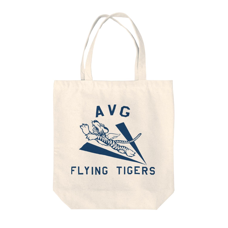 CYBERDYNEのフライングタイガース Tote bags