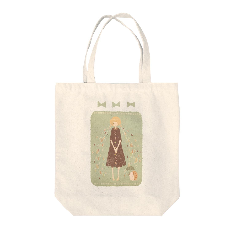 *momochy shop*の*あめのこ* Tote bags