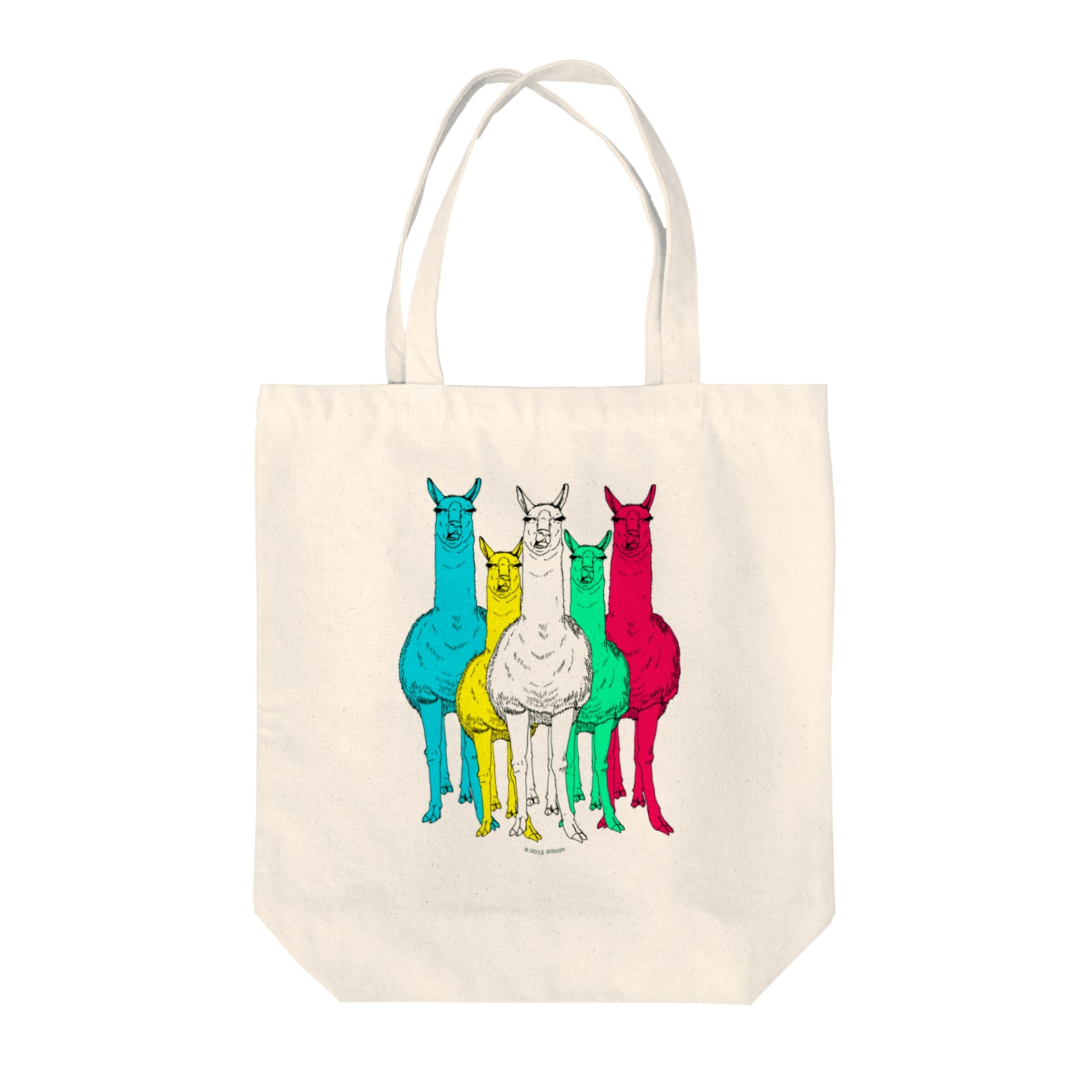 8U TOYSのSo What マルチカラー Tote bags