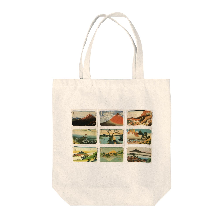 安永峰夫の北斎-1 Tote bags