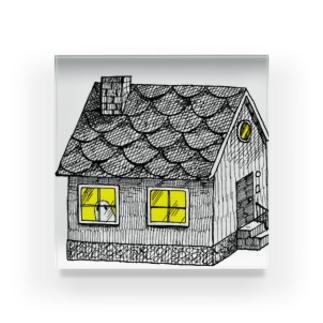 おばけハウス Acrylic Block