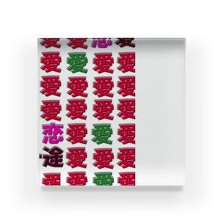 いちご Acrylic Block
