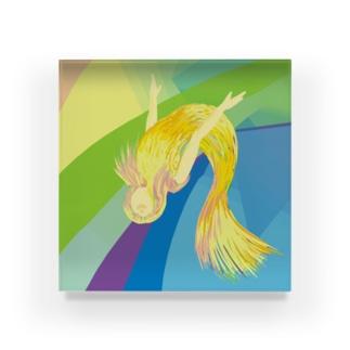 春光のマーメイド Acrylic Block