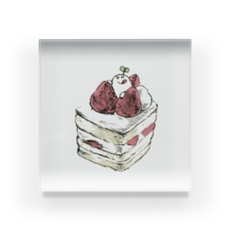 mebae cake Acrylic Block
