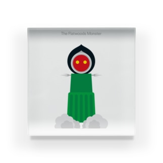 The Flatwoods Monster Acrylic Block
