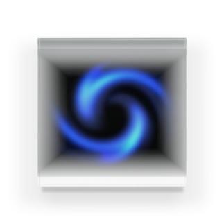 「瞑想エンブレム」 アクリルブロック