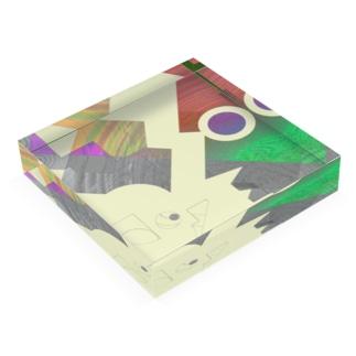 WORLD Acrylic Block