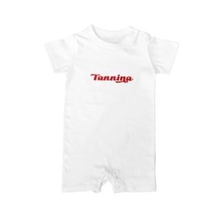 Tannina RED ベイビーロンパース