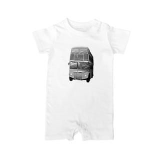 ロンドン二階建てバス Baby rompers