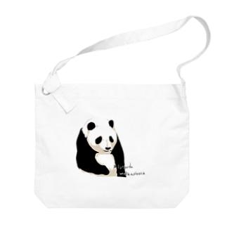 パンダちゃん Big shoulder bags