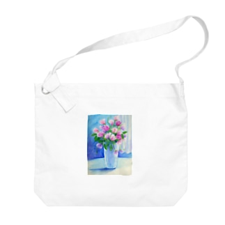 盛り花 Big shoulder bags
