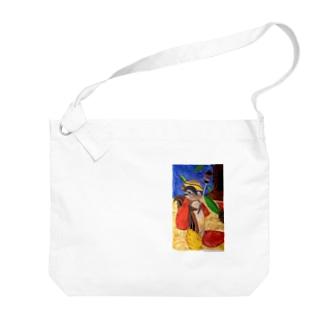 りす騎士 Big shoulder bags