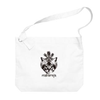 Nobigao マハラジャキャット Big shoulder bags