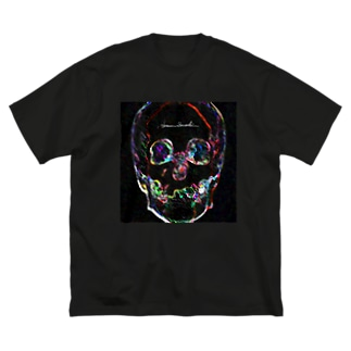 Bright Face Big silhouette T-shirts