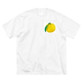 ヤッスーのゆず Big silhouette T-shirts