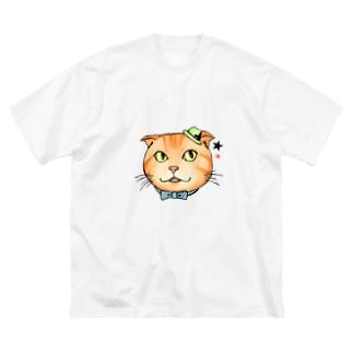 トラジ Big silhouette T-shirts