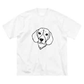 葵空 Big silhouette T-shirts
