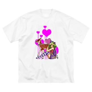 UNITY Big silhouette T-shirts