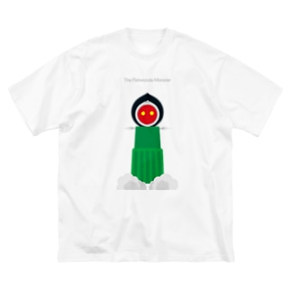 The Flatwoods Monster Big silhouette T-shirts
