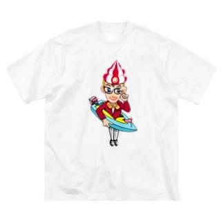 船山征四郎 異能兄弟シリーズ04 Big silhouette T-shirts