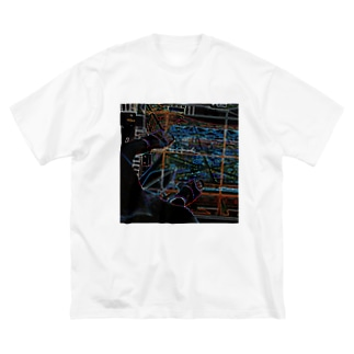 Tokyo Tower Sky Big silhouette T-shirts
