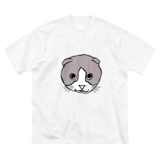 ガブ Big silhouette T-shirts