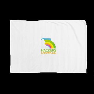 ハッカーズチャンプルーのハッカーズチャンプルーロゴ(正方形) Blankets