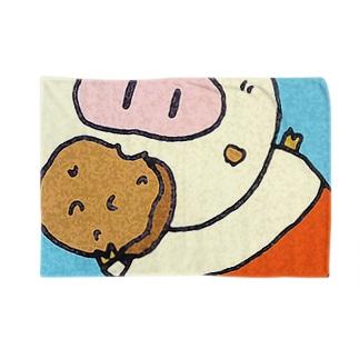 ぶ~たん Blankets