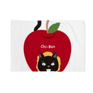 ちーぼんアップル Blankets
