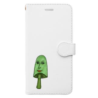 きのこさん Book-style smartphone case