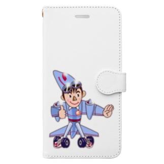 安和翔吾郎 異能兄弟シリーズ05 Book-style smartphone case