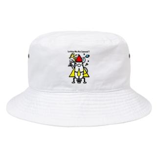 囚われの地球人(うちゅうじん)!?ロケットに興味深々! Bucket Hat